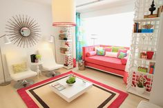 Home-Styling: 5 Tips For Small Living Rooms *** 5 Dicas Para Salas Pequenas