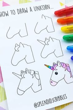 How cute is this unicorn bullet journal doodle! 🦄 Check out the rest of the … How cute is this unicorn bullet journal doodle! 🦄 Check out the rest of the list for more super cute ideas! Bullet Journal Art, Bullet Journal Ideas Pages, Bullet Journal Inspiration, Bullet Journals, Doodle Art For Beginners, Easy Doodle Art, Doodle Doodle, How To Draw Doodle, Easy Drawings For Beginners