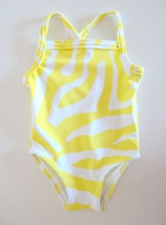 Free Swimsuit Pattern for Babies