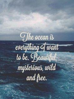 I am the ocean! S.J.
