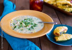 Chasing Some Blue Sky: Green Chile Corn Chowder