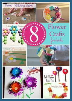 Toddler Approved!: 8 Flower Crafts & Activities for Kids