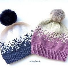 Ravelry: Vinterstormlua/Winterstorm hat pattern by MaBe Beanie Knitting Patterns Free, Fair Isle Knitting Patterns, Loom Knitting, Knit Patterns, Free Knitting, Baby Knitting, Knitting Machine, Knitting Tutorials, Stitch Patterns