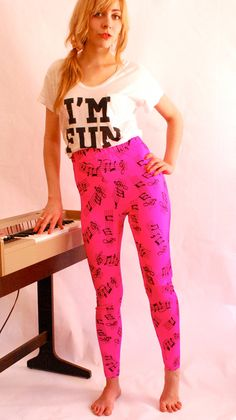 Love these music note leggings!
