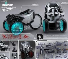Moovie, zero-emission personal electric vehicle with two driving modes | Designbuzz : Design ideas and concepts