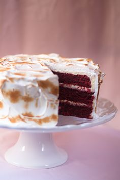 Red Velvet Cake, a well-loved cake recipe, with a delicious exterior!