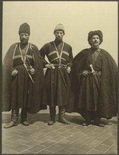33 Stunning Portraits Of Immigrants At Ellis Island Three Russian Cossacks