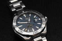 TAG Heuer Aquaracer 300M with steel bezel Hands-On