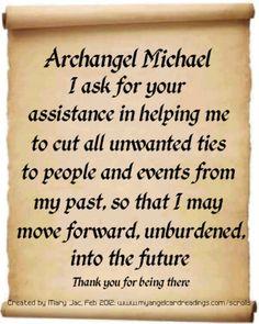 Prayer to my Archangel xx