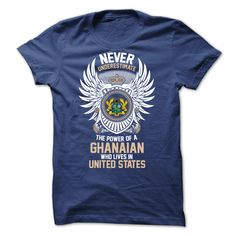From GHANA and Live in UNITED STATES T-Shirts, Hoodies, Sweaters