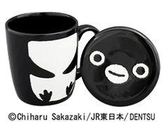 Suicaのペンギン フタ付マグカップ