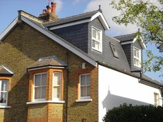 2 dormers with mansard style roof between Loft Conversion Roof, Loft Conversion Extension, Loft Conversion Bedroom, Attic Loft, Loft Room, Attic Rooms, Bedroom Loft, Shed Dormer, Loft Dormer
