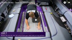 Malibu Factory Install Video - SeaDek Marine Products Blog