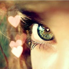 When you look me in the eyes,hearts,heart,bokeh,eye,love