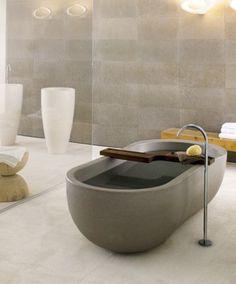 COCOON modern bathtub inspiration bycocoon.com | freestanding bathtubs | inox…