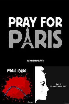 Attentats de Paris en dessins