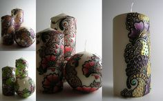 Sound Horn Please: Etsy Find: Henna Candles and Lanterns