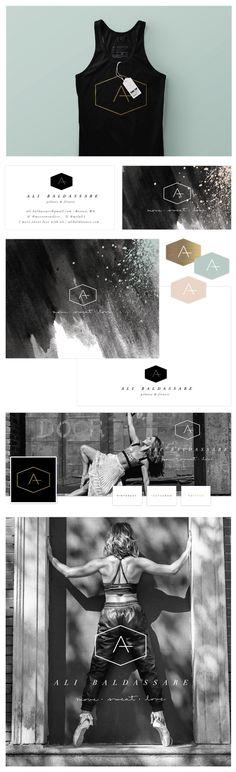 Brand Launch: Ali Baldassare by Salted Ink - Fitness Brand Design - www.saltedink.com - Brand Stylist | image credit to Lucie Wicker Photography