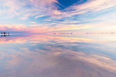 色が変化したウユニ塩湖がやばい