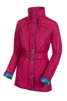 Target Dry Winterberry Quilted Ascot Jacket Enjoy the unique styling of the Ascot - a quilted longer length jacket for women that appeals to the eyes