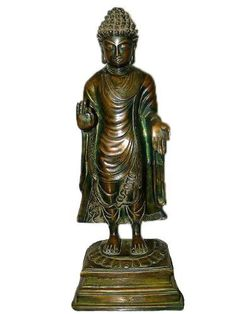 "Statue Collectibles Yoga Gift Standing Buddha Brass Figurines 16"" by Mogul Interior, http://www.amazon.com/dp/B00C0NTFQA/ref=cm_sw_r_pi_dp_r25vrb0YX0QQT"