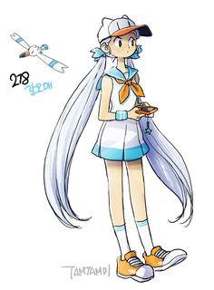 Pokemon Gijinka 278. Wingull 279. Pelipper