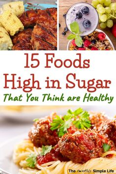 There are so many foods that you may thing are healthy but are actually super high sugar foods to avoid if youre going zero sugar or doing a sugar detox There are breakfa. Sugar Detox Recipes, Sugar Detox Diet, Low Sugar Diet, Sugar Foods, High Sugar, Candida Recipes, Sugar Sugar, Cleanse Recipes, Healthy Detox