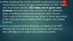 how seo help to grow your business