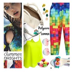 """""""Brightest summer!"""" by wannanna ❤ liked on Polyvore featuring Givenchy and Dolce&Gabbana"""