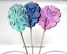 8 Frozen Party Favors LARGE Hard Candy Lollipops Suckers Gifts Princess Party favors