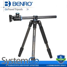 366.69$  Buy here - http://aliaud.worldwells.pw/go.php?t=32677951223 - Latest BENRO Go Travel Tripods Kit  Professional Digital Camera Tripod Top magnesium Alloy Tripod For SLR Cameras GC168TV1
