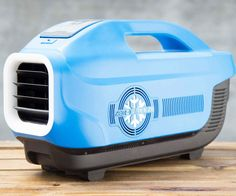 Spend the day outdoors without succumbing to the smothering heat by bringing along this portable air conditioner. Apart from offering three fan speeds and cooling settings, this handy unit comes with a built-in nightlight, speaker, and charging station!