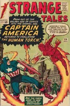 Strange Tales #114, November 1963: 2nd Appearance of Mordo, first Dr. Strange cloak. Click for value