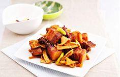 Tiết thu mát dịu rất thích hợp với món thịt ba chỉ kho củ cải các bạn nhé! #Foodgia