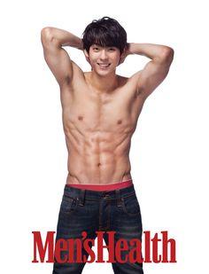 Men's Health --- BTOB Min Hyuk -  February Issue '14