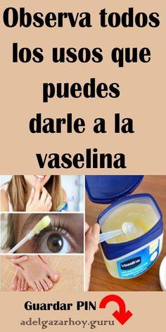 Observa todos los usos que puedes darle a la vaselina. #vaselina #trucos #usos #tips
