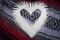 3D Origami Heart | 3d origami heart by ~animeperfect on deviantART