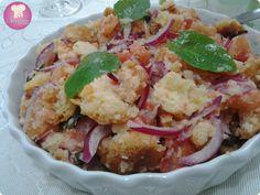 Panzanella... Salada de Pão Italiano. http://www.anaclaudianacozinha.com/2013/06/panzanella-by-nigella.html