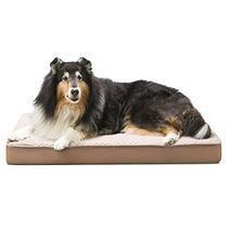 """Member's Mark Self Cooling Pet Bed, Brown (30"""" x 40"""" x 4"""")"""