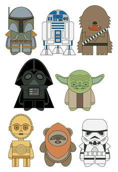 Star Wars babies!