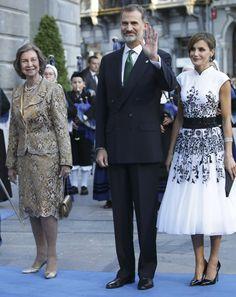 Queen Sofia, King Felipe, Queen Letizia of Spain -  resyes2-gtres