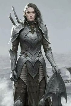 Pin by alan burt on concepts for fantastic costumes in 2019 Elf Warrior, Fantasy Female Warrior, Female Armor, Female Knight, Warrior Girl, Fantasy Armor, Fantasy Women, Warrior Princess, Warrior Queen