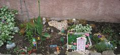 My fairy garden My Fairy Garden, Stepping Stones, Outdoor Structures, Outdoor Decor, Home Decor, Stair Risers, Interior Design, Home Interior Design, Home Decoration