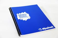 Wipebook Notebook, Graph. Should be available at Staples in Penticton.