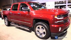 2016 Chevrolet Siverado Z71 Off Road - Exterior and Interior Walkaround ...