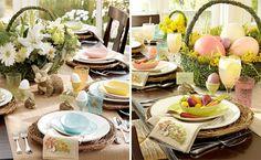 Pottery Barn: Easter decor table ideas.