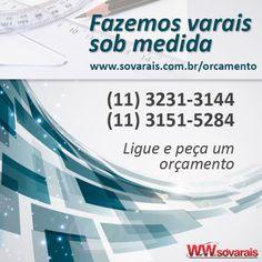 SóVarais - Empresa Vendas e instalação de Varais  www.sovarais.com.br/orcamento  #sobmedida #varais #varal #varaispersonalizados #personalizarvarais #empresadevarais #sovarais #lojaonline