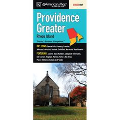 Providence Greater Street Map Fold Map (Set of 2)