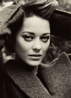 Marion Cotillard. Those eyes and her accent are to die for.