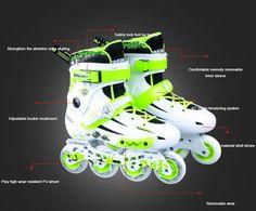 Fashion inline skating luminous skates